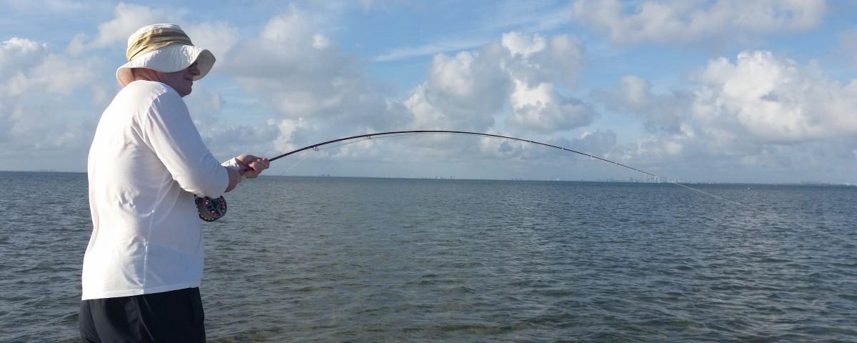 Miami bonefishing with david miami fishing guidemiami for Biscayne bay fishing
