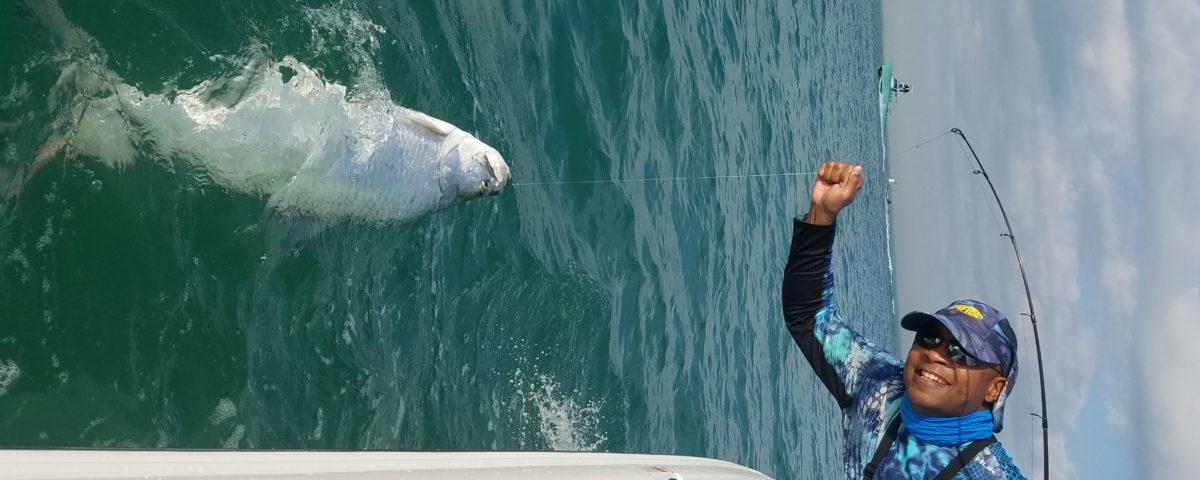 Mike reed miami tarpon fishing miami fishing guide for Fishing spots in miami